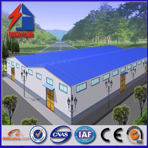 Carbon Steel Welded H Beam Hot Rolled Section Steel EPS Panel Factory Construction Steel Structure Workshop Warehouse Building