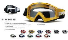 Fashional motorbike Dirt Bike Off Road anti dust MX goggles