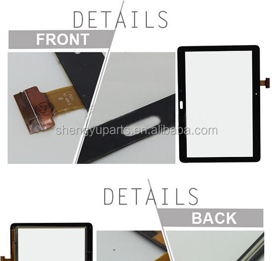 Wholesale 100% Original For Samsung Galaxy Note 10.1 P600 Touch Screen For samsung p600 touch pancel