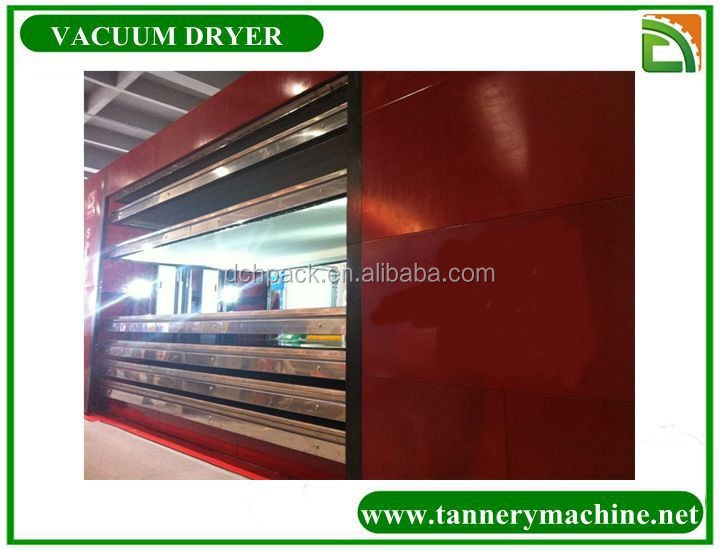 tannery machine cow suede leathe for hot water vacuum dryer