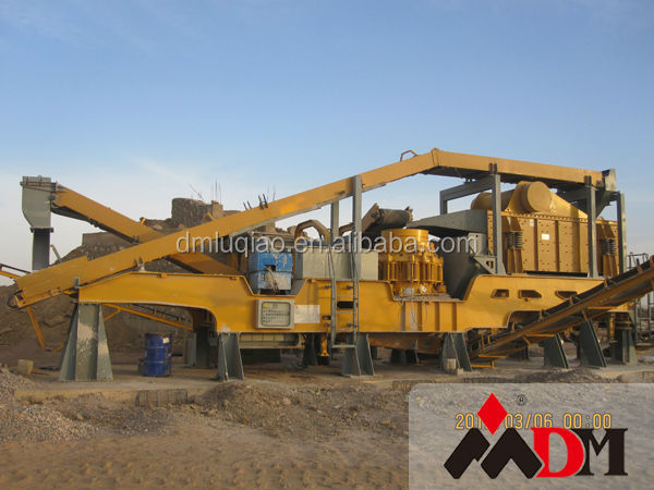 Shanghai DongMeng mini portable rock crusher for sale