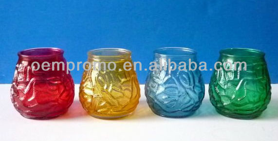 Mini Glass Cup Candles