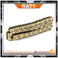 Chinese factory sale cheap 428H motorcycle gold chain