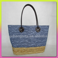 Fashion Straw Beach Bag For Latest Design Polyester Bag From China