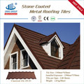 Anti -fade Stone coated metal roofing tile