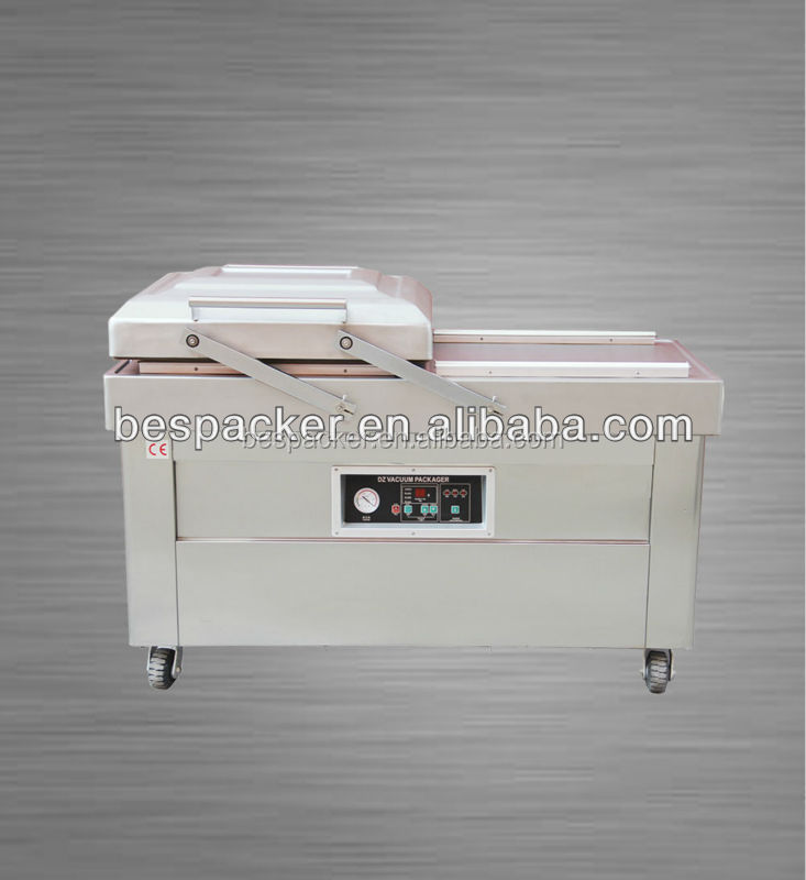 Automatic Double Chambers Meat Vacuum Packaging Machine