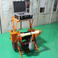 Underwater Imaging Monitor System Built-in High Quality 360 Degree Rotary Camera