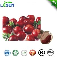 GMP Standard 100% Water Soluble Plant Extract Lingonberry Extract Anthocyanidin 5%-25%