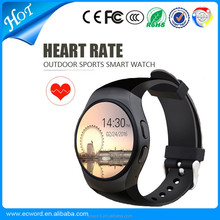 Bluetooth Watch KW18 MTK2502C wifi For iPhone Samsung Mobile Smart Watch
