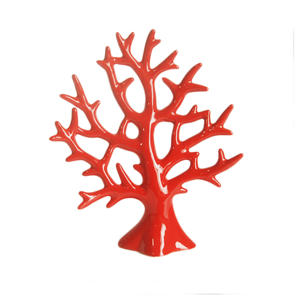 WHOLESALE! Red beautiful <strong>ceramic</strong> coral