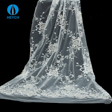 Clothes Accessories Lace Tulle Bridal Trim Wedding Dress Beads Fabric