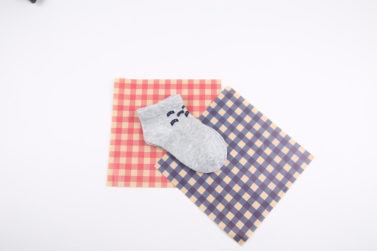 Combed cotton baby socks