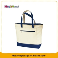 Customer cotton canvas tote bag promotional shopping bag