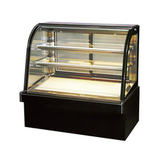 4 ft curve glass door refrigerated bakery display case cake display case cake chiller price