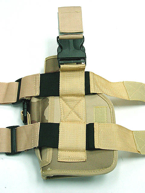 Loveslf military thigh gun holster outdoor tactical camouflage leg pistol holster