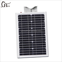 Cheap Monocrystalline solar panel outdoor stand street light led