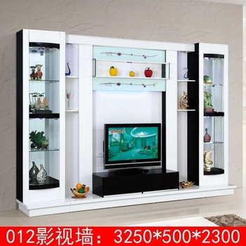 Latest Design Diy Modern Tv Wall Unit 012 Wood Led Tv