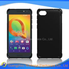 alpha design collision avoidance antiskid cell phone case for Alcatel One Touch A5 LED soft cover