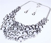 Factory price hot sale wholesale alibaba alloy accessories jewelry set and hair clips