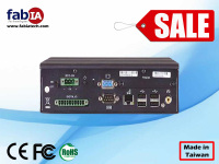 fanless mini pc 12v, mini linux embedded cheap fanless mini industrial pc with GPIO FX5505