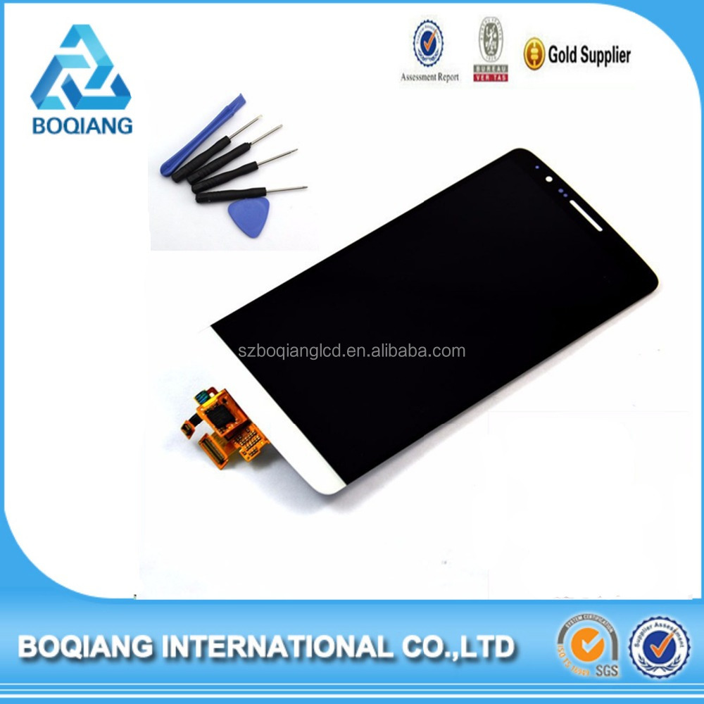 low price china mobile phone spare parts for LG G3 digitizer, LCD with Digitizer for LG G3 original