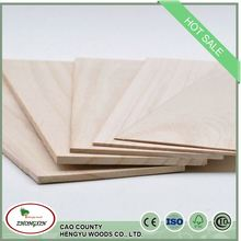 factory paulownia trim finger joint board wood with high quality