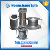 carbon steel weld bushing 316 bellow tube metallic compensators of expansion