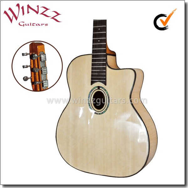 [WINZZ] D Hole or Oval Hole Gypsy Jazz Guitar (AGJ400)