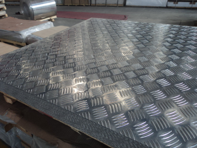 Chequered Plates Aluminium Alloy 3003 making truck flooring
