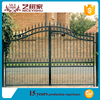 Finished Surface Finishing and Interior Position wrought iron door, gate for boundary wall