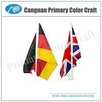 High Quality magnetic car flag car window flag Customer logo for car flag
