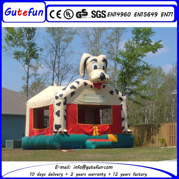 GUTEFUN brand portable top sale cheap commercial inflatable bouncy animal for sale for rent