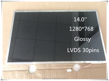 New 14.0'' Thickness LP140WX1-TL01 LCD Monitors For Laptop 1280*768 LVDS 30Pins LP140WX1-TL01 LCD Screen Dispaly panel