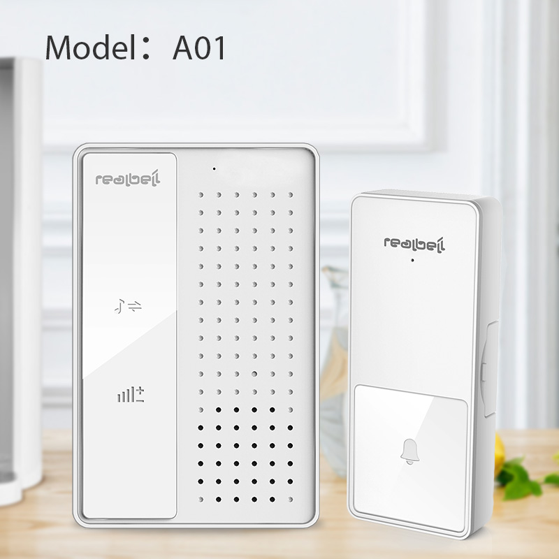 AC Plug in power source stable working long range wireless digital learning code doorbell