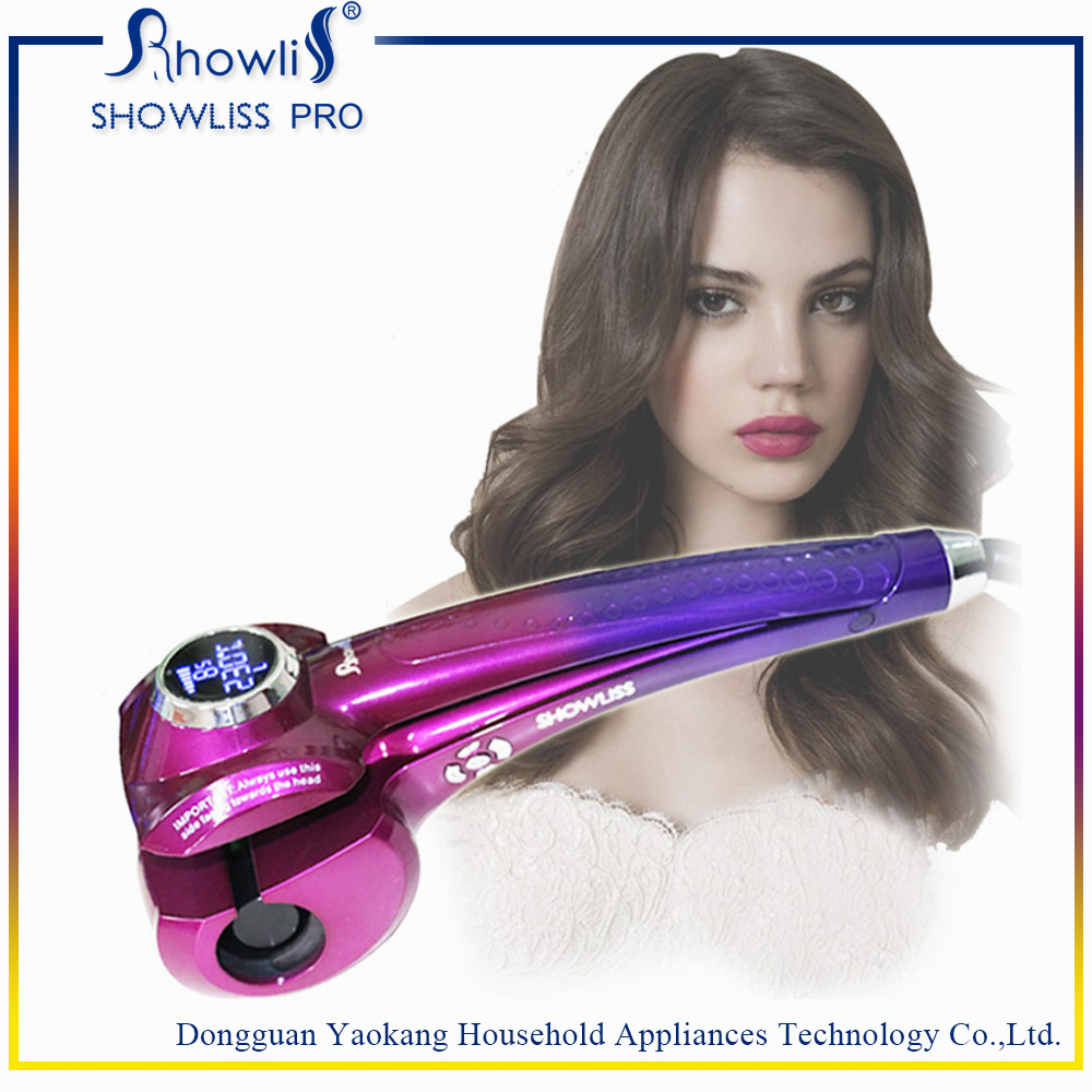 Wholesale Ceramic Hair Curling Tongs Hair Curling Machine