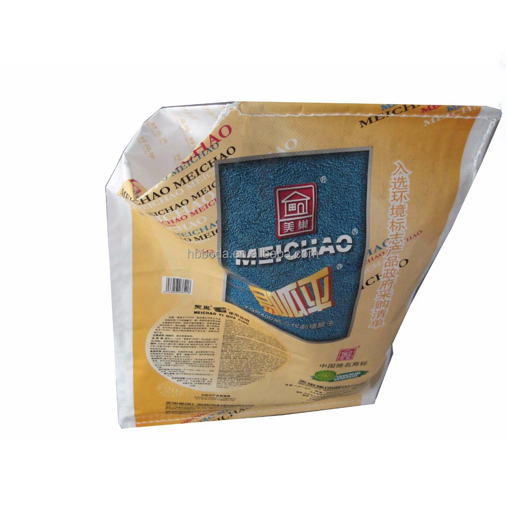 laminated 50kg polypropylene raffia empty woven cement bags size dimension and price