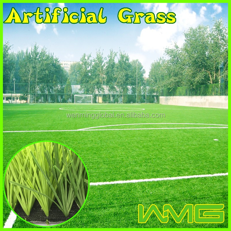 High quality cheap water resistant artificial grass for football pitch