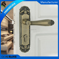 High quality security door handles and lock suit for indoor and outdoor