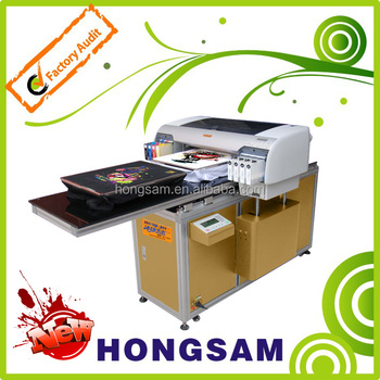 Hong-Jet 8495 two flatbed T-shirt printer/DTG printer/textile printer