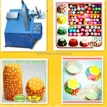 China made widely used automatic paper cake tray machine/cake tray forming machine