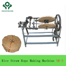 2018 Top sales farm tools Semi Auto Rice stalk Straw Rope Spinning Machine Factory price