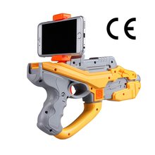 HTOMT 2017 ar gun distributor wanted Reality Experience wood AR gun game kids toy guns