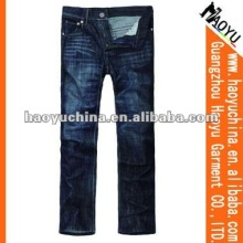 2015 latest fashion denim men jeans (HYM1013)