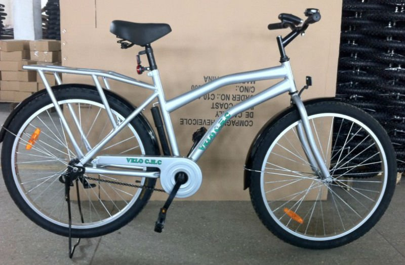 26inch specialized hot sale steel silver utility city bike cheap