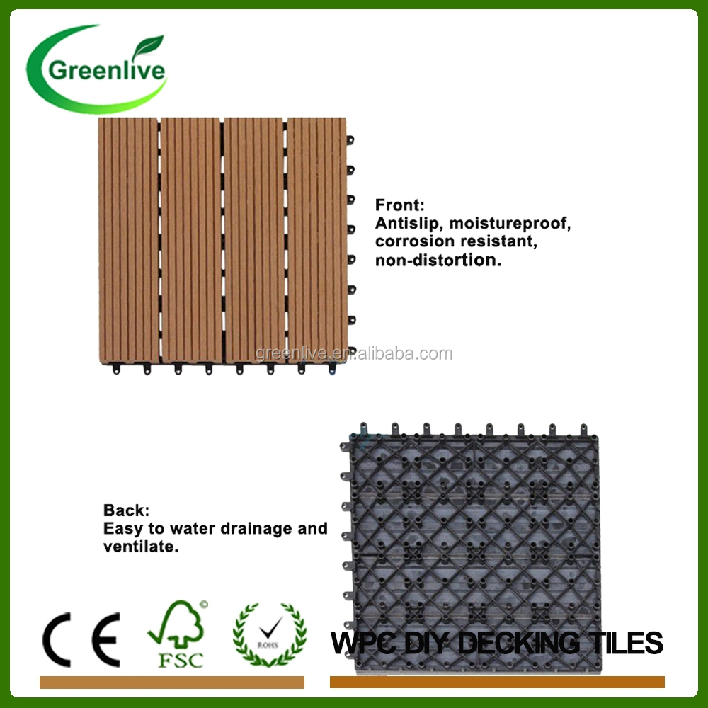 Non-slip Bathroom Parquet Wood Floor Tiles - Buy Parquet Wood Floor ...