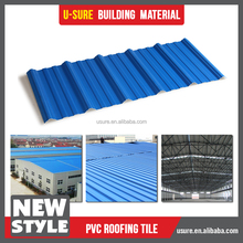 Wholesalers china pvc rooftop carport roofing material