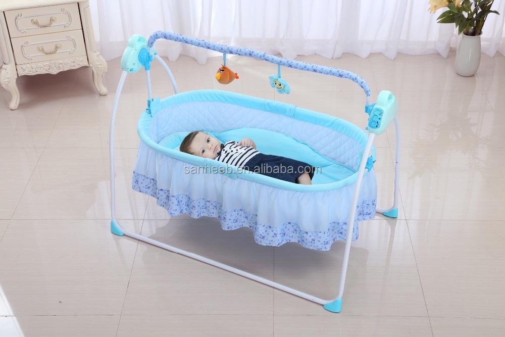 Качели кроватка для новорожденных