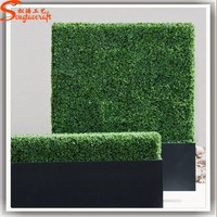 multi-purpose plastic hedge trimmer plants type of artificial boxwood hedge for garden and sideward wall decor