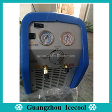 High performance 3/4HP car auto a/c R410a refrigerant recovery machine manufacturer price RR250