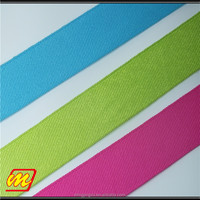 Factory direct sell 2mm-200mm solid color cotton grosgrain ribbon